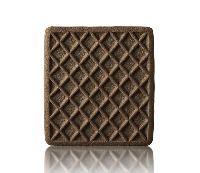 Biscotto quadrato al cacao