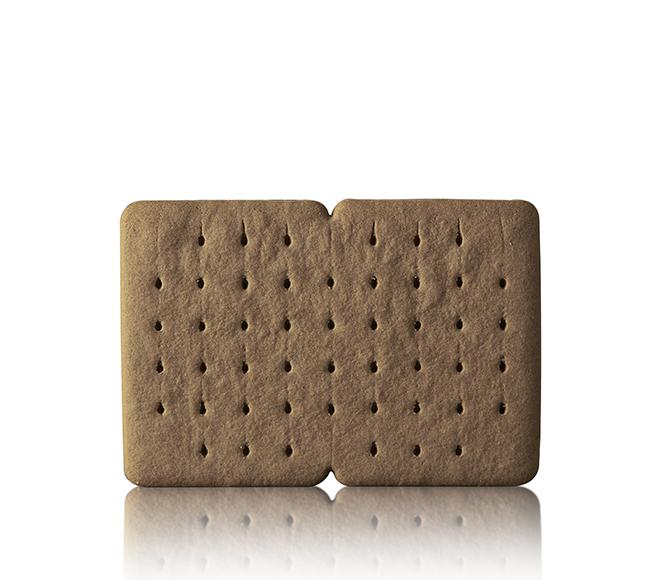 Biscotto gelato al cacao doppio