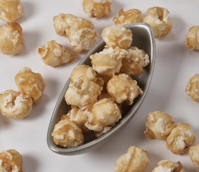 caramelized pop corn
